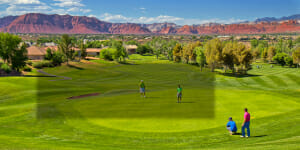 Book golf in Utah