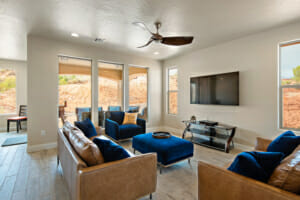 Living Room at Red Rock Vacation Rentals