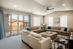 Family Room at Red Rock Vacation Rentals